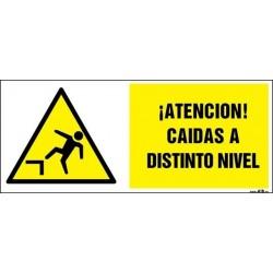 ¡Atención! caidas a distinto nivel