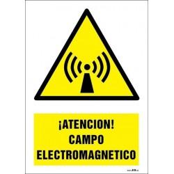 ¡Atención! Campo electromagnético