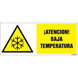 ¡Atención! Baja temperatura