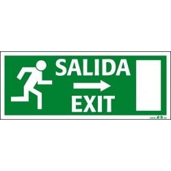 Salida a la derecha