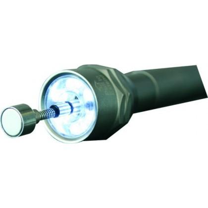Linterna LED de bolsillo con brazo magnético y 6 leds