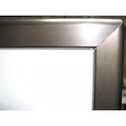 Marco aluminio ángulo