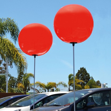 """Set de globos """"gigantes"""""""