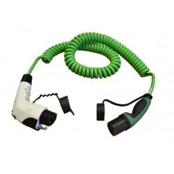Cable de carga verde T1 a T2