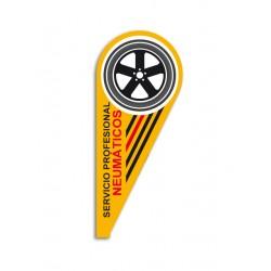 Bandera Surf Servicio Neumáticos