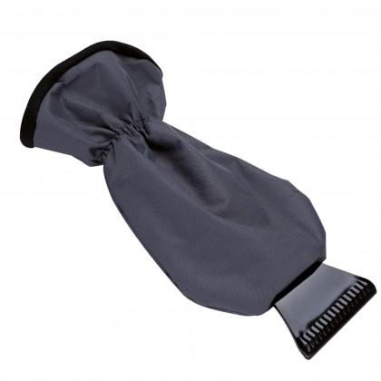 Raspador negro con guante