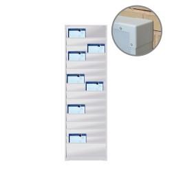Organizador Taller PVC, 2 columnas
