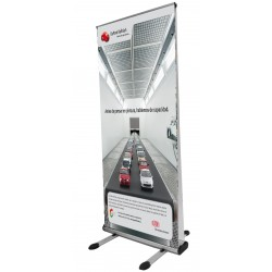 Roll-up Exterior doble cara