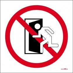 No utilizar en caso de incendio
