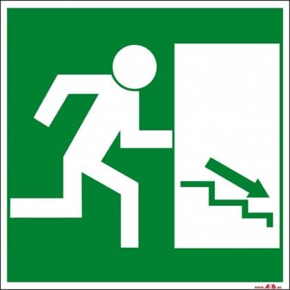 Salida escaleras abajo derecha