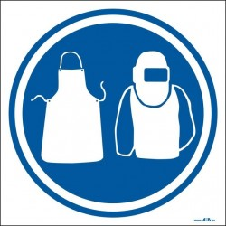 Uso obligatorio de ropa protectora