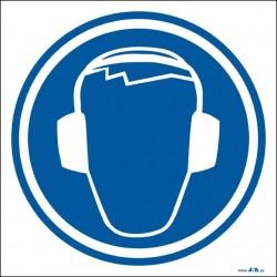 Protección obligatoria del oído