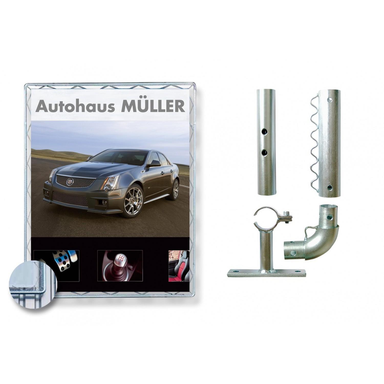 Estructura de aluminio para presentar coches   Ahbonline.es - AHB Online