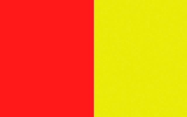 Rojo/amarillo